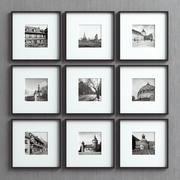 Picture Frames Set -29 3d model