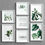 Picture Frames Set -30 3d model