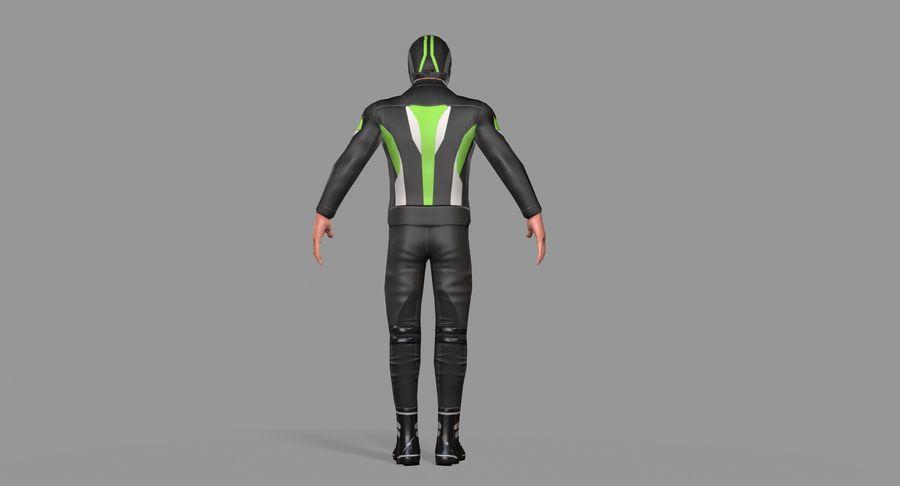 骑自行车的人 royalty-free 3d model - Preview no. 36
