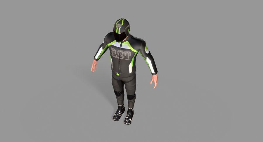 骑自行车的人 royalty-free 3d model - Preview no. 25