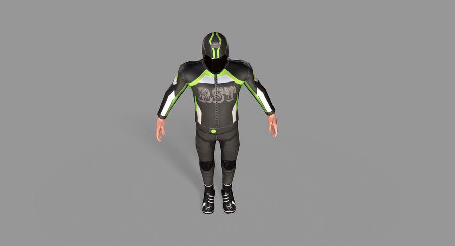 骑自行车的人 royalty-free 3d model - Preview no. 18