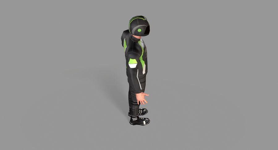 骑自行车的人 royalty-free 3d model - Preview no. 20