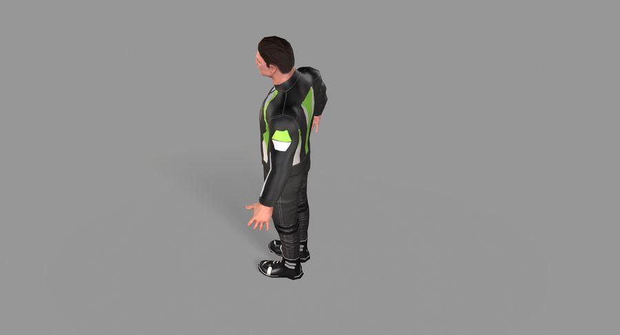 骑自行车的人 royalty-free 3d model - Preview no. 30