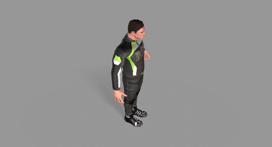 骑自行车的人 royalty-free 3d model - Preview no. 27
