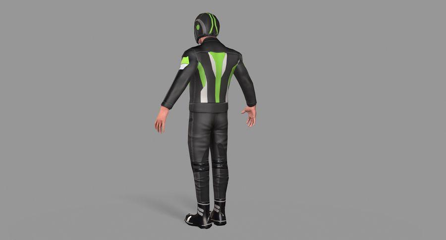 骑自行车的人 royalty-free 3d model - Preview no. 7