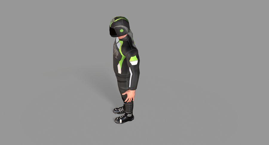 骑自行车的人 royalty-free 3d model - Preview no. 24