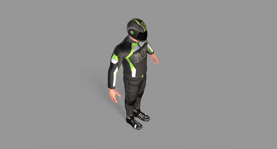 骑自行车的人 royalty-free 3d model - Preview no. 19