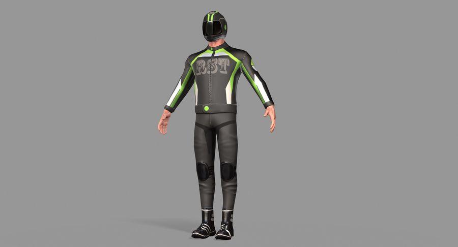 骑自行车的人 royalty-free 3d model - Preview no. 32