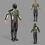 Cyklist 3d model