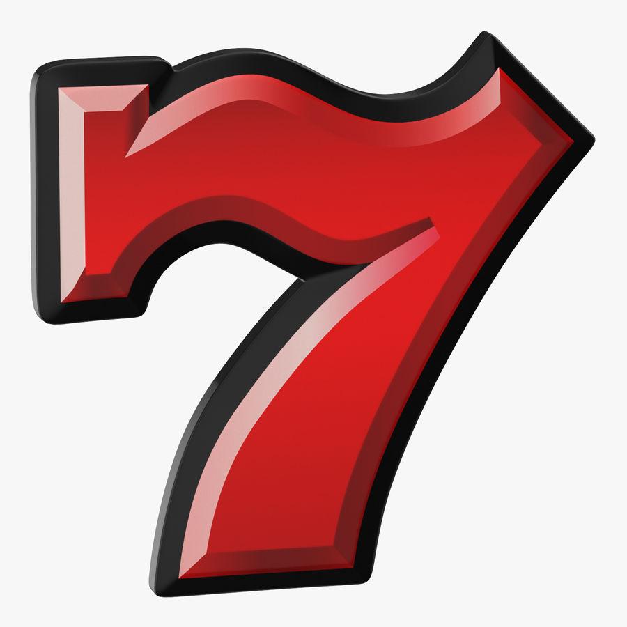 Máquina tragamonedas de video 7 royalty-free modelo 3d - Preview no. 1