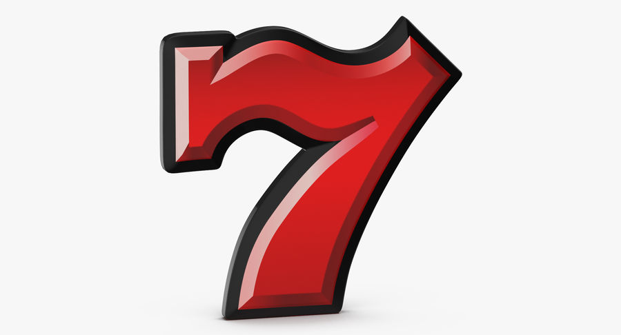 Máquina tragamonedas de video 7 royalty-free modelo 3d - Preview no. 3