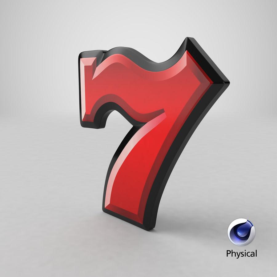 Máquina tragamonedas de video 7 royalty-free modelo 3d - Preview no. 24