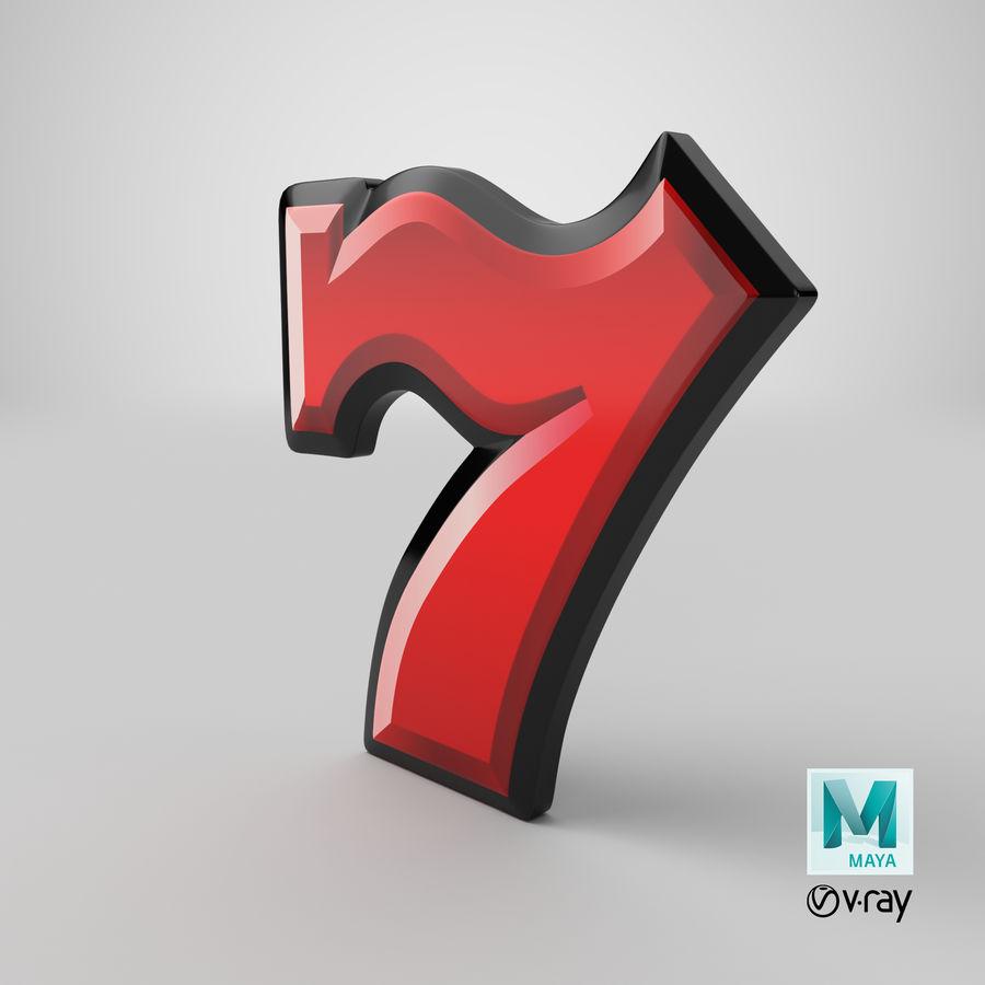 Máquina tragamonedas de video 7 royalty-free modelo 3d - Preview no. 20