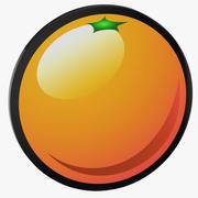 Automat wideo pomarańczowy 3d model