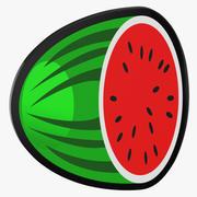 Video Slot Machine Wassermelone 3d model