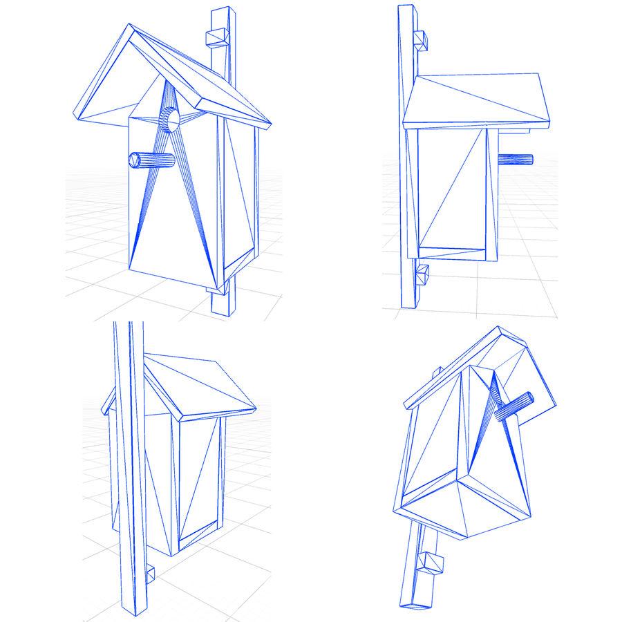 새의 집 A royalty-free 3d model - Preview no. 9