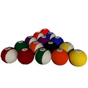 Pool Balls Set [High Quality, Game-Ready] 3d model