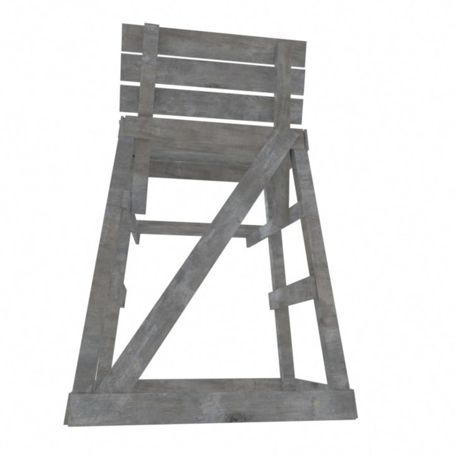 Soporte de silla salvavidas royalty-free modelo 3d - Preview no. 5