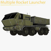 Multiple Rocket Launcher 3d model
