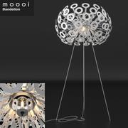 High Poly Moooi Одуванчик торшер детальная 3d модель 3d model