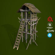 Look out Tower D180328 3d model