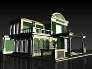Industrial Expo Stand 3d model
