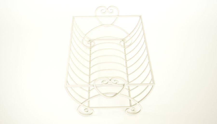 Cream Heart Bulaşık Damlalıklı Rafı royalty-free 3d model - Preview no. 5