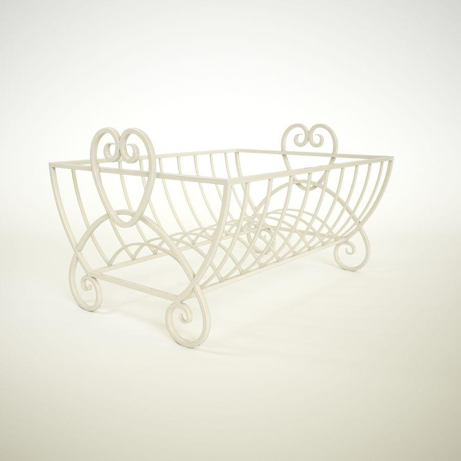 Cream Heart Bulaşık Damlalıklı Rafı royalty-free 3d model - Preview no. 1