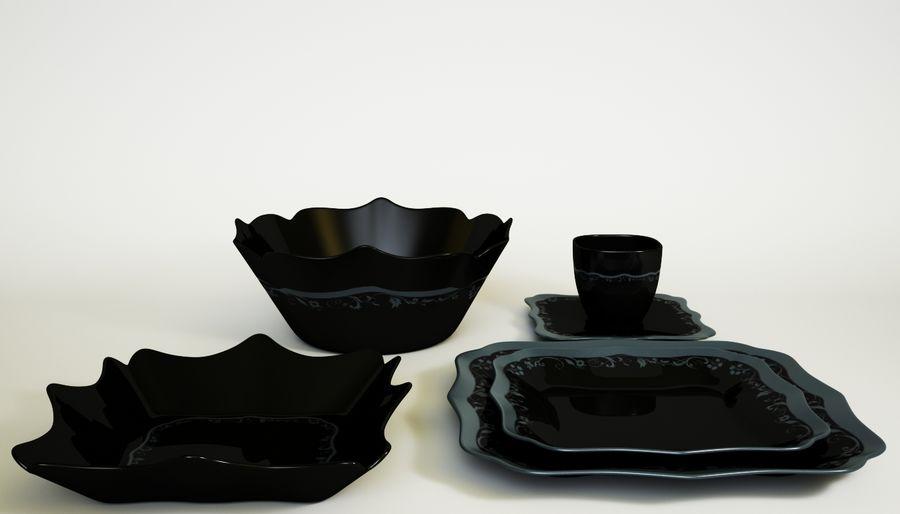 Luminarc Sofra Takımı royalty-free 3d model - Preview no. 5