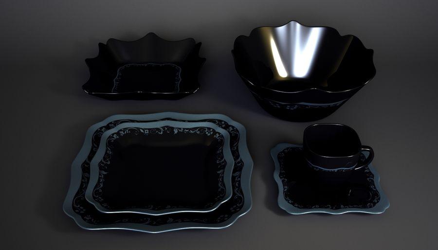 Luminarc Sofra Takımı royalty-free 3d model - Preview no. 8