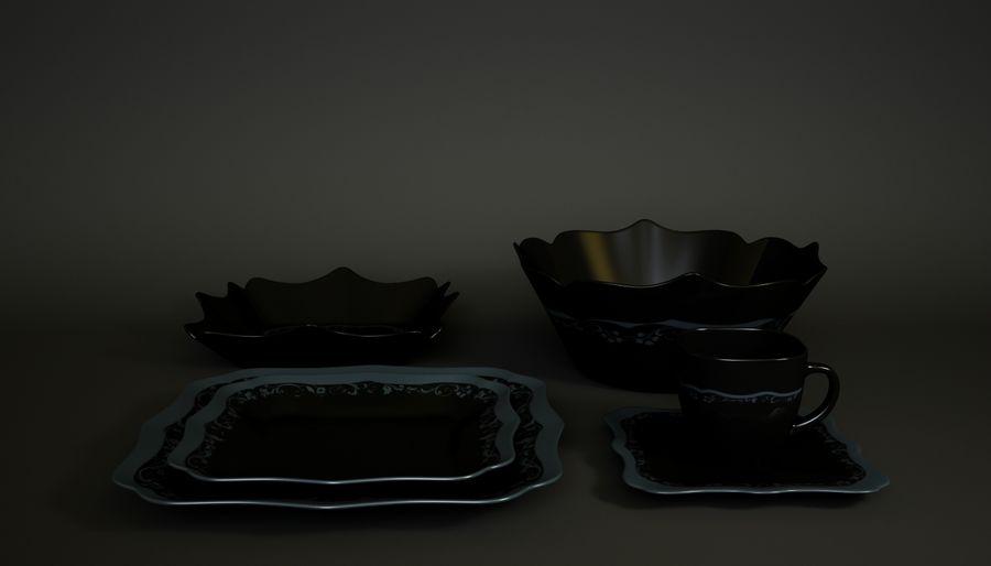 Luminarc Sofra Takımı royalty-free 3d model - Preview no. 7