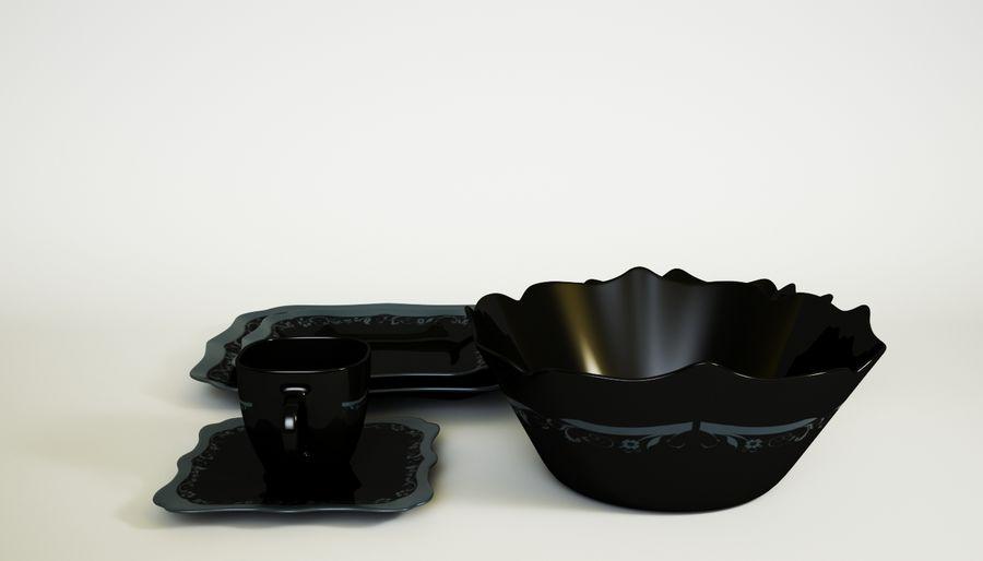 Luminarc Sofra Takımı royalty-free 3d model - Preview no. 6