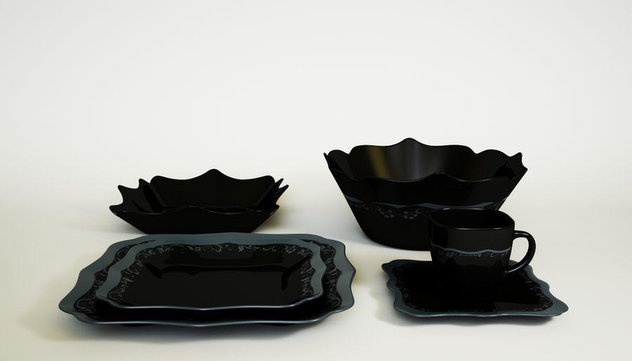 Luminarc Sofra Takımı royalty-free 3d model - Preview no. 4