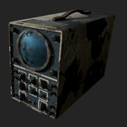Rusted Oscilloscope 3d model
