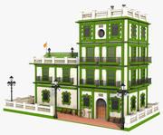 幻想绿色建筑V1 3d model