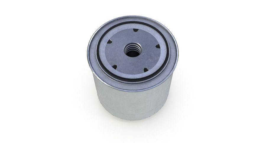 Oil filter royalty-free 3d model - Preview no. 7