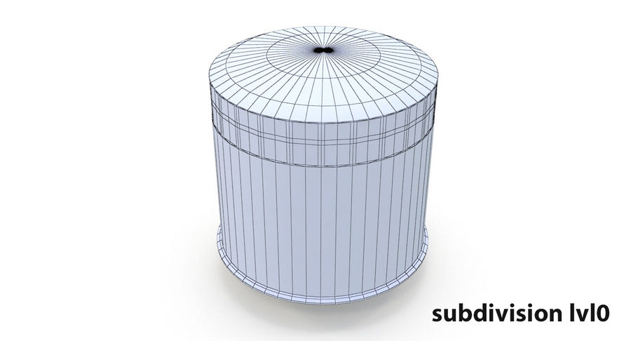 Oil filter royalty-free 3d model - Preview no. 14