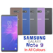SAMSUNG GALAXY NOTE 9 in all colour 3d model