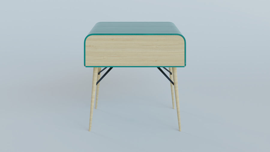 Bureau royalty-free 3d model - Preview no. 4