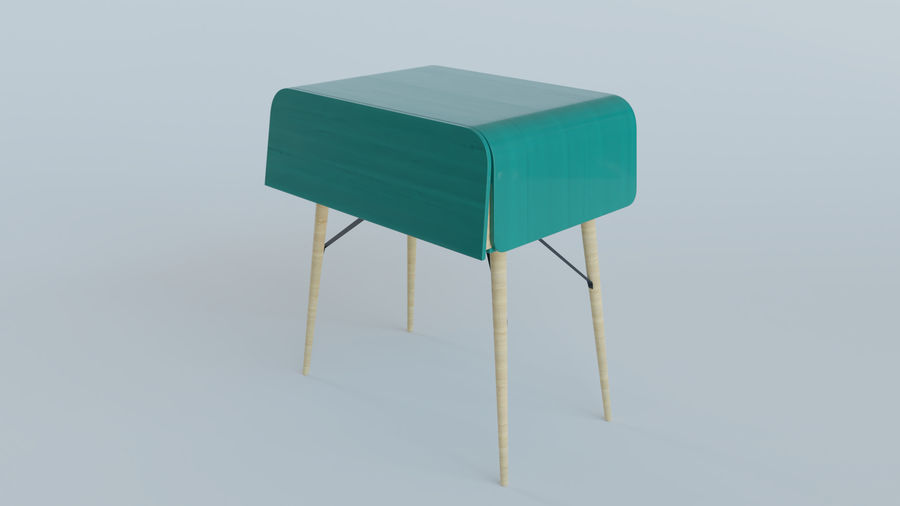 Bureau royalty-free 3d model - Preview no. 5