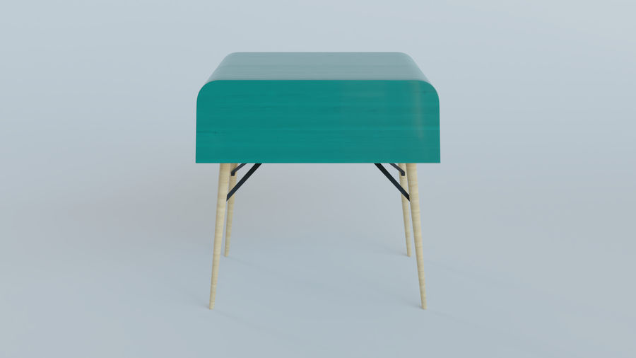 Bureau royalty-free 3d model - Preview no. 1