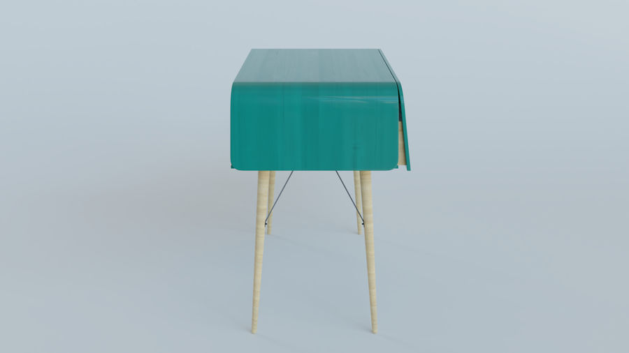 Bureau royalty-free 3d model - Preview no. 3