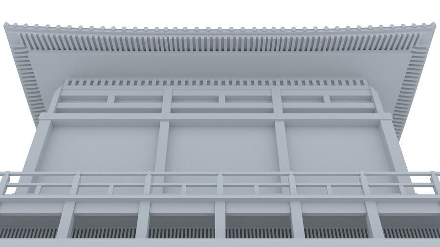 Japanska templet royalty-free 3d model - Preview no. 8