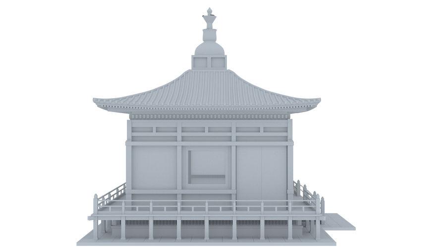 Japanska templet royalty-free 3d model - Preview no. 4