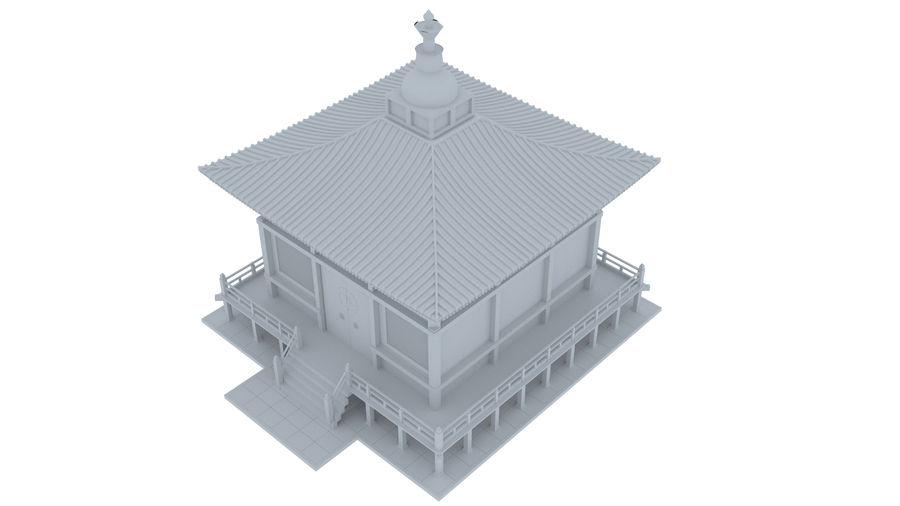 Japanska templet royalty-free 3d model - Preview no. 5