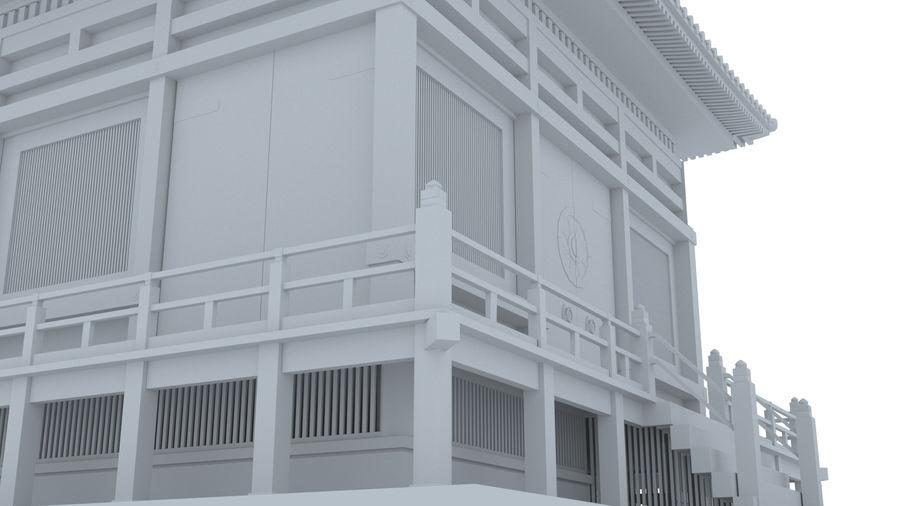 Japanska templet royalty-free 3d model - Preview no. 7