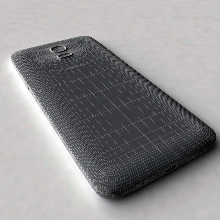 Samsung Galaxy On6 royalty-free 3d model - Preview no. 7