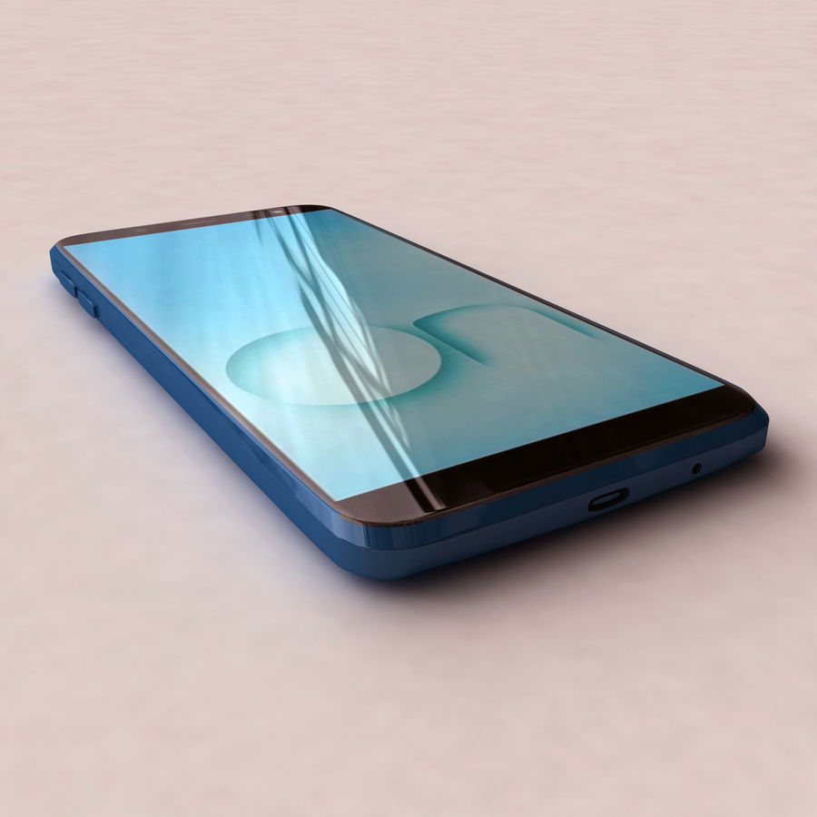 Samsung Galaxy On6 royalty-free 3d model - Preview no. 2