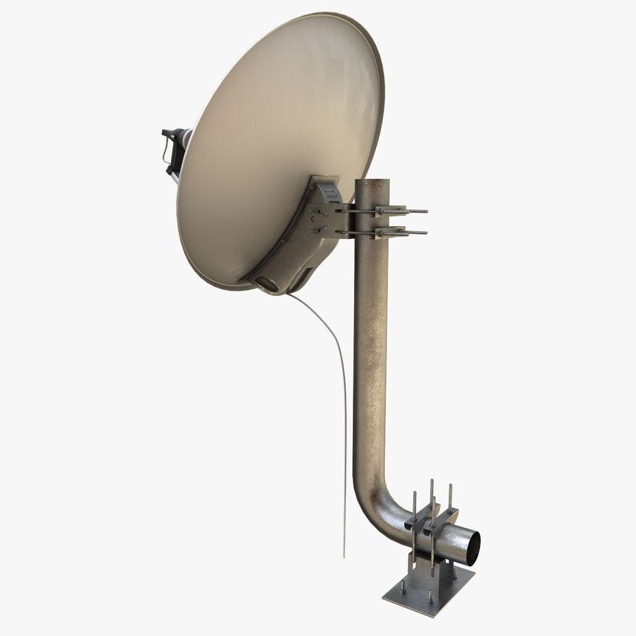 Antena parabólica royalty-free modelo 3d - Preview no. 4