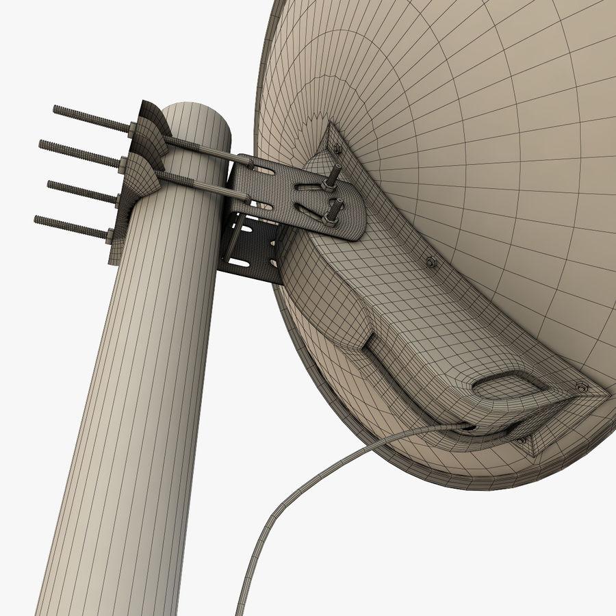Antena parabólica royalty-free modelo 3d - Preview no. 16